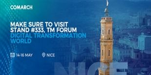 Treffen Sie Comarch auf der Digital Transformation World in Nizza!