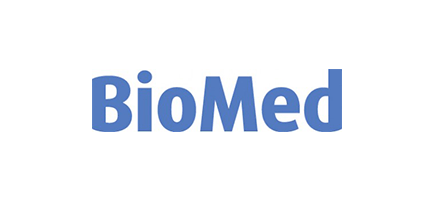 biomed logo referenzkunde comarch